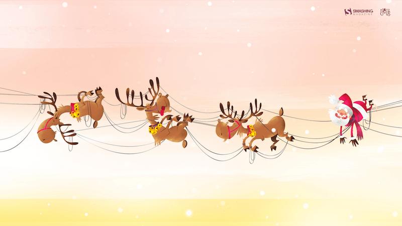 Christmas Wallpaper — Christmas Fail