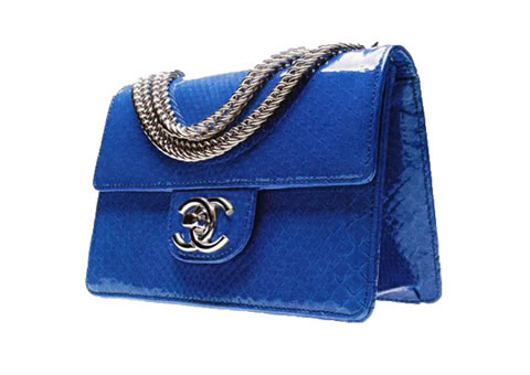 Chanel Purse Klein Bleu