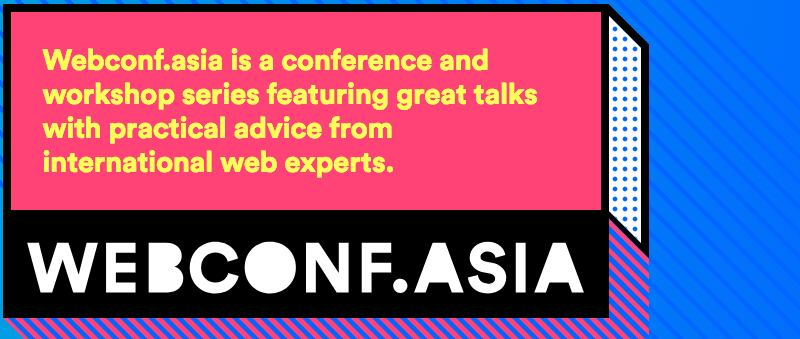Webconf.asia 2018
