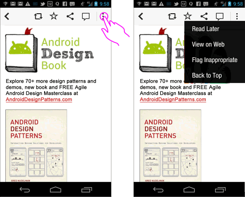 Flipboard app for Android 4.