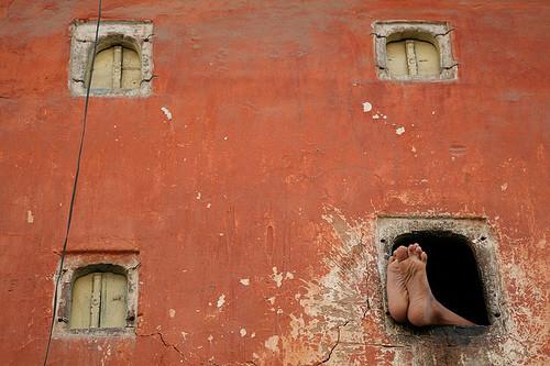 Feet. Jaipur