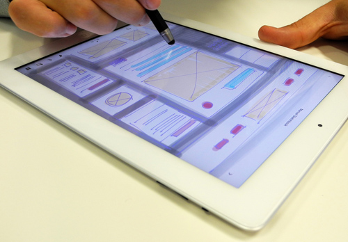 The iPad as a Sketching Tool