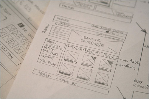 Getting clients to sketch multiple approaches helps them consider the different options available.