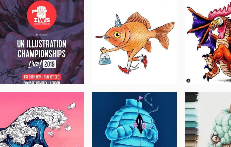 UK Illustration Championships 2019 LIVE