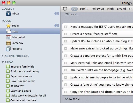 Things App for Mac