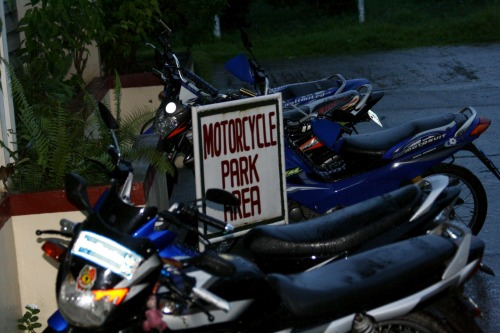 Wayfinding and Typographic Signs - the-unseen-beauty-of-motorcycle-park-area