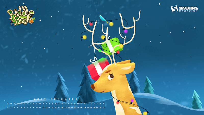 Reindeers Go Rah-Rah!