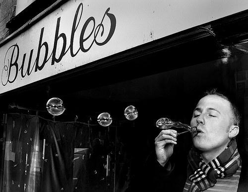 Vintage Signage - Bubbles