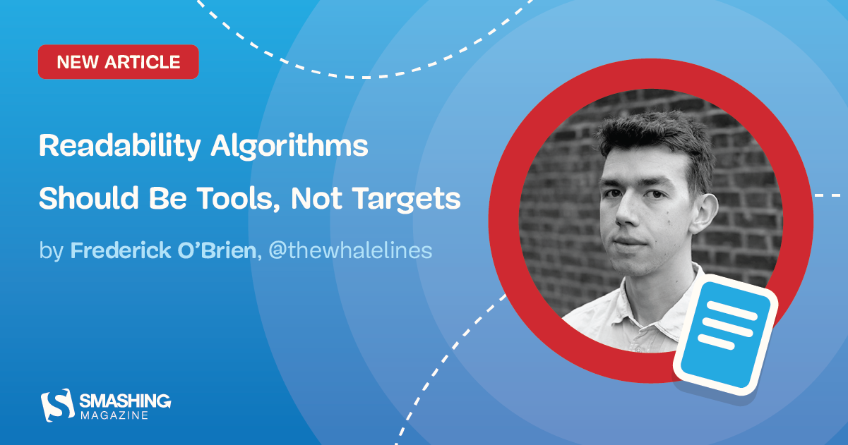Readability Algorithms Should Be Tools, Not Targets