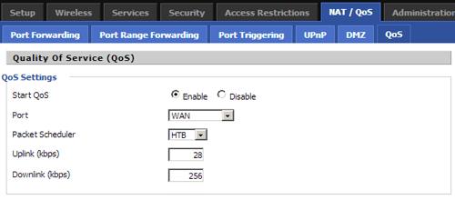 Bandwidth Monitoring.