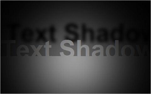 CSS text-shadow Fun: Realtime Lighting Demo