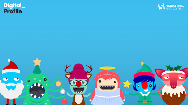 Christmas Wallpaper — Christmas with The Digies