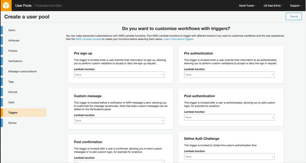 User Authentication For Web And iOS Apps With AWS Cognito (Part 1