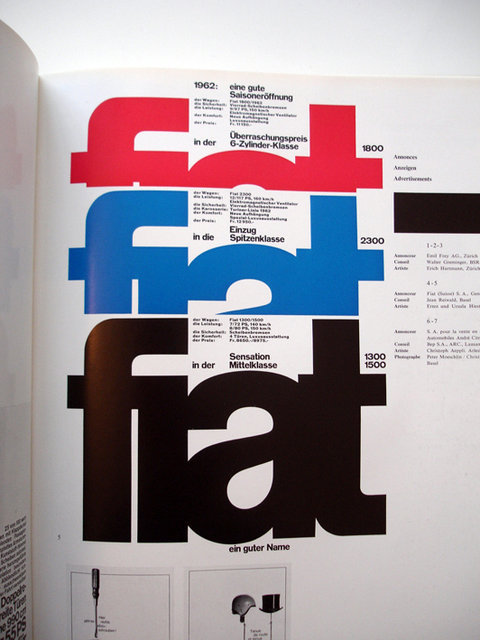 Swiss Graphic Design - Publicite 12