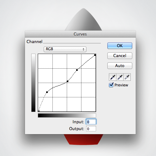 Sing the Curves live filter to boost the metal effect.