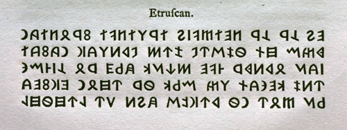 etruscan type