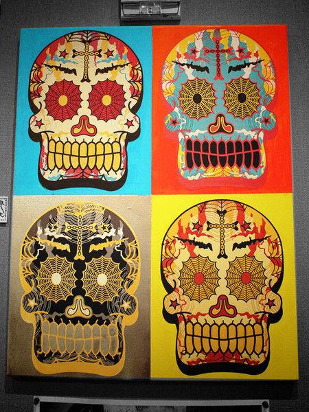 Pop Art Showcase - Dia De Los Muertos!