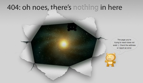 Creative 404 Error Page