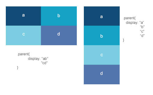 CSS3 template layout