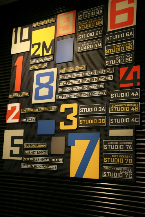 Wayfinding and Typographic Signs - studio-floors