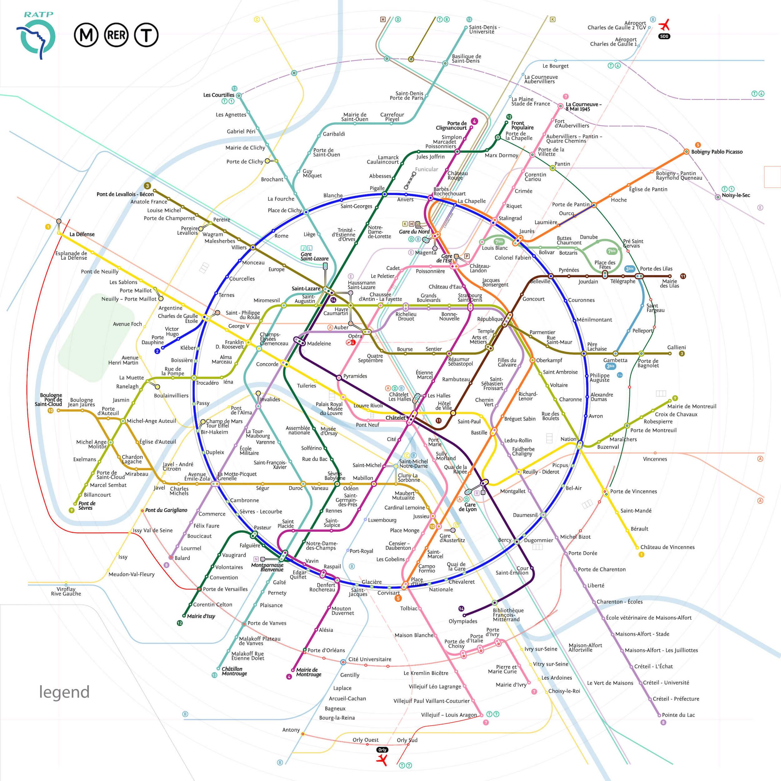 Paris Metro Map Printable.Paris Metro Map The Redesign Smashing Magazine