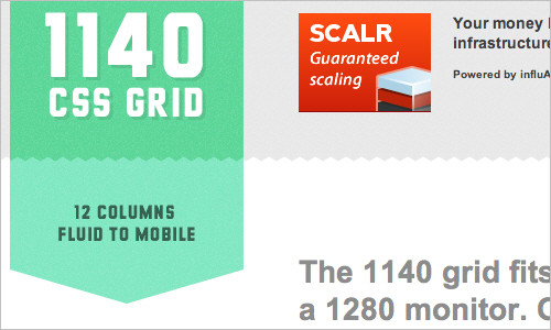 The 1140px Grid: Fluid down to mobile