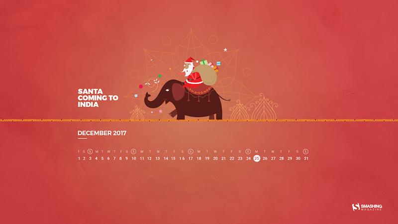 Santa Coming To India