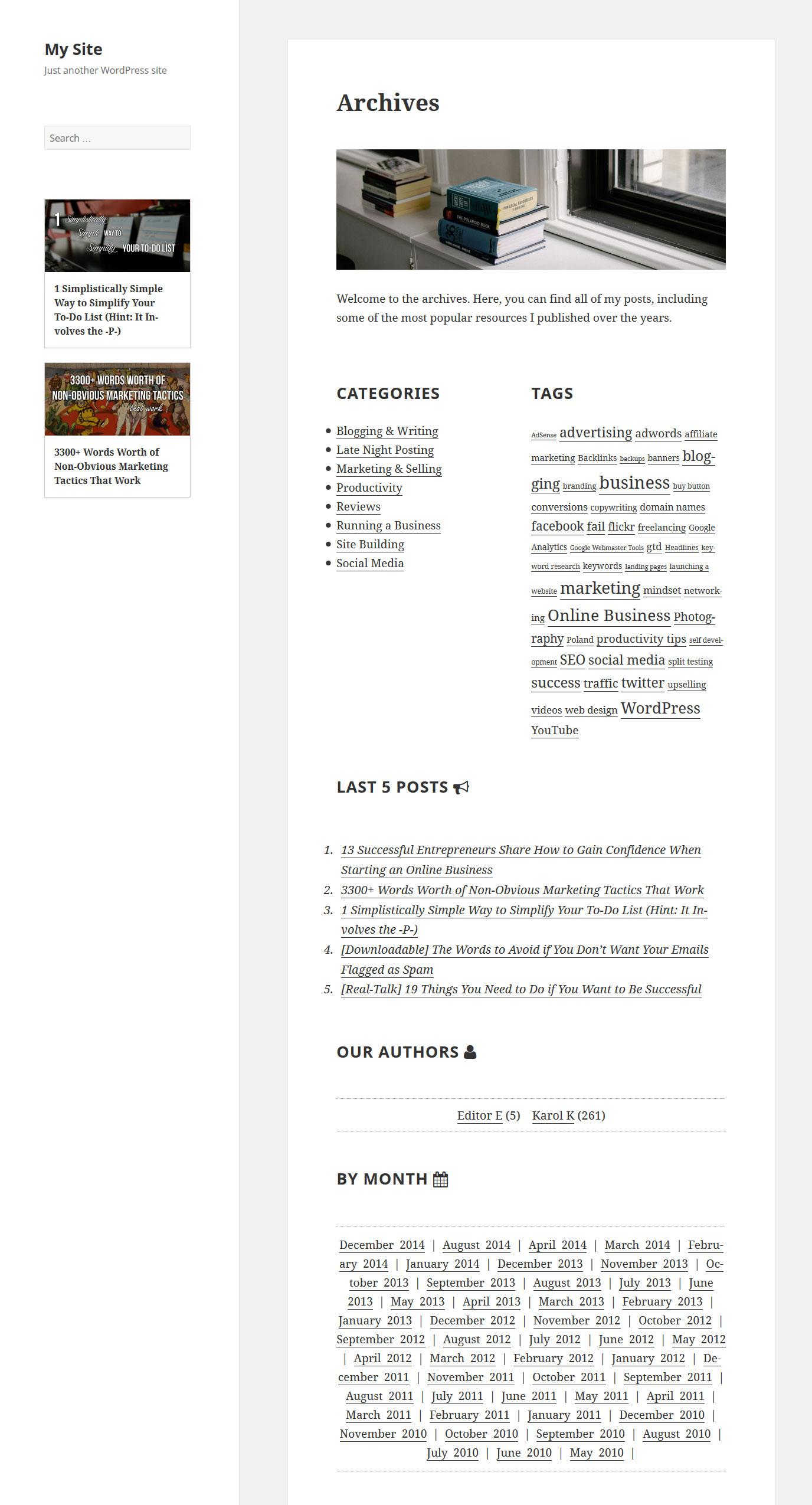 How To Build A Custom WordPress Archive Page — Smashing Magazine
