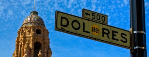 Wayfinding and Typographic Signs - dolores-street