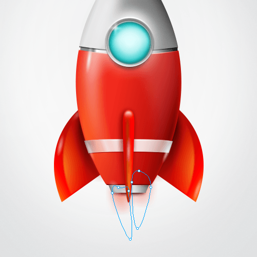Red Rocket Icon How To Design A...