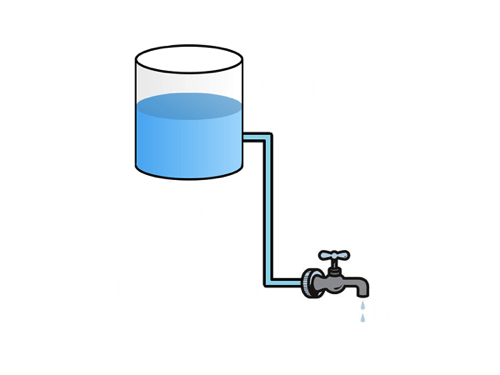 Water tank system.