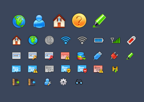 Free Icon Sets - Icons