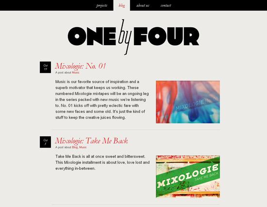 50 Beautiful And Creative Blog Designs Smashing Magazine