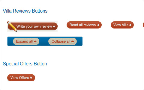 Create a Button with Hover and Active States using CSS Sprites