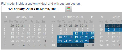 Jquery Datepicker Date Range Example