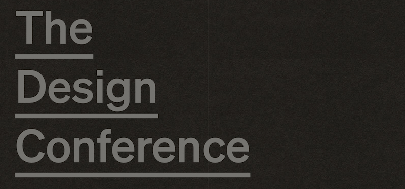The Design Conference 2021