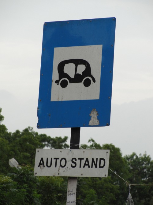 Wayfinding and Typographic Signs - theres-always-an-option-in-india