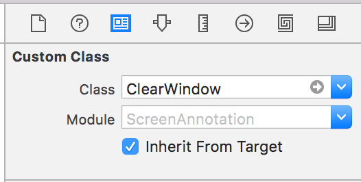 Type in ClearWindow