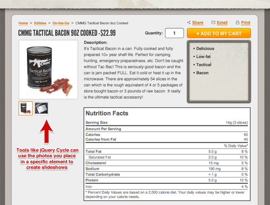 Example of a WordPress post designed with a customized multi-column layout