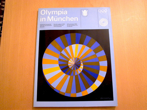 Swiss Graphic Design - otl aicher visual communication - munich olympics - münchen olympia 1972