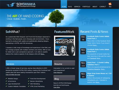 Soh Tanaka's Blue Branding