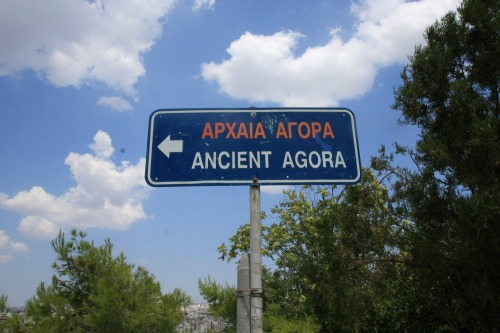 Wayfinding and Typographic Signs - ancient-or-now