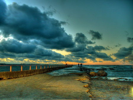 HDR Photos - Breakwater @ Pirita
