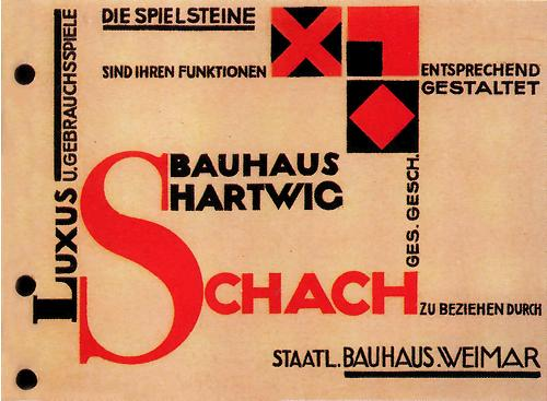 Swiss Graphic Design - Bauhaus advertising