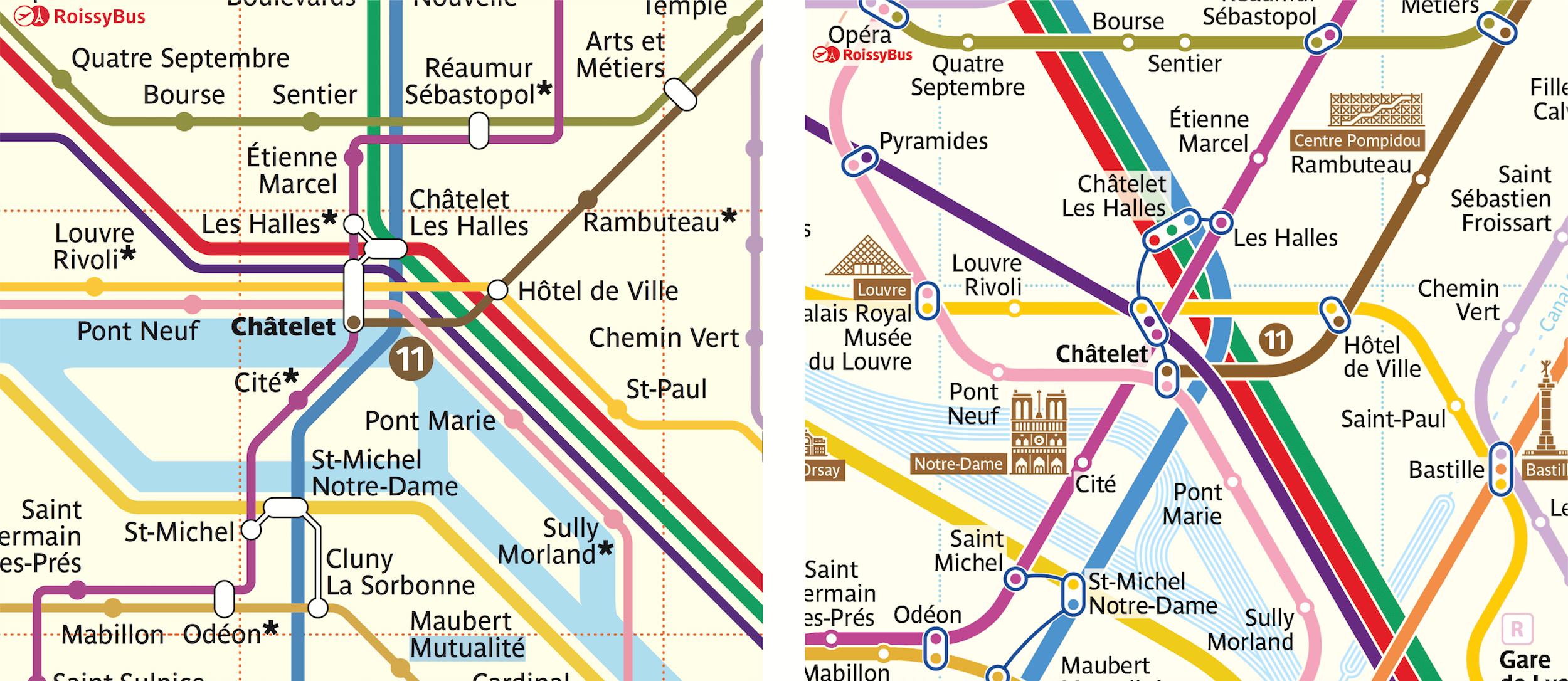 Arkham Knight Subway Map Freeze.Paris Metro Map The Redesign Smashing Magazine