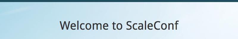 ScaleConf 2018