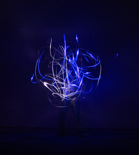 Lightning Photography - Human Bulb