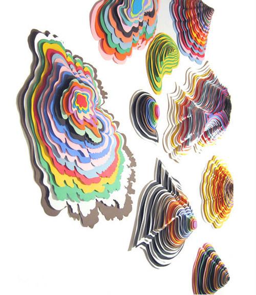 Paper art 3 from Jen Stark