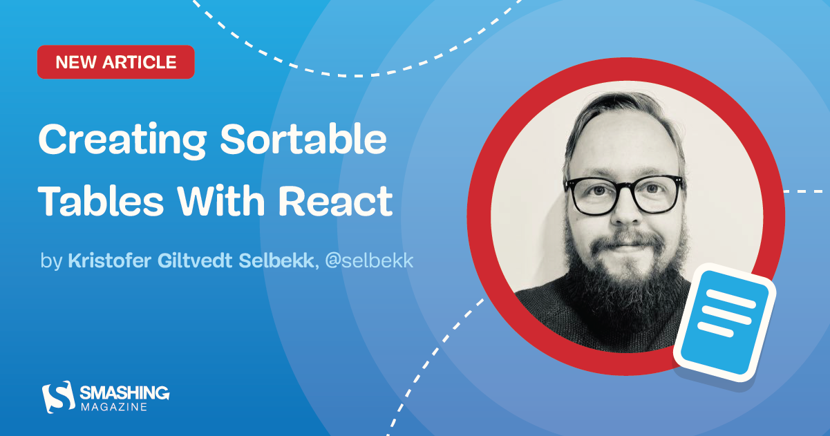 Creating Sortable Tables With React