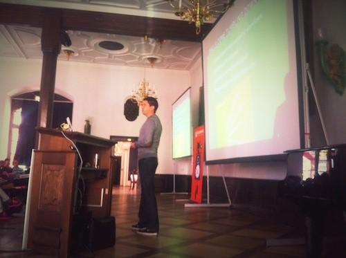 Steven Hay at Smashing Conference